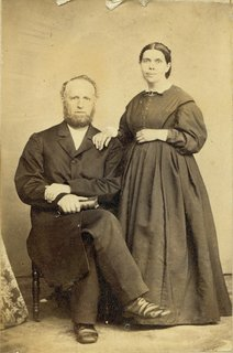 James White and Ellen G. White, circa 1864