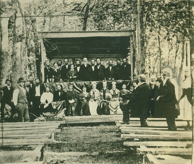 Ellen G. White, Eagle Lake, Minnesota, camp meeting