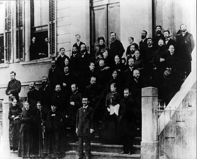 Ellen G. White at the Third European Council, Basel, Switzerland, September 1885