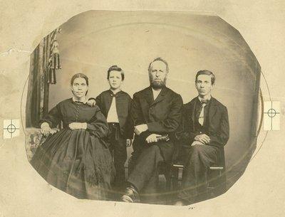 White family, circa 1864