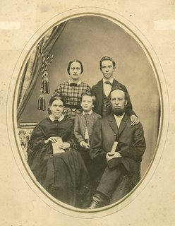 White family with Adelia P. Patten, circa 1864