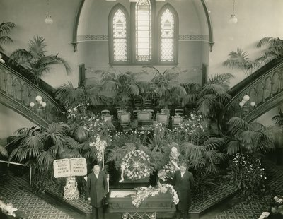 Ellen G. White's Funeral, Battle Creek Tabernacle, Battle Creek, Michigan, July 24, 1915