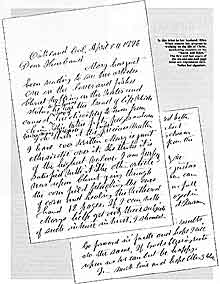 EGW letter to her husband